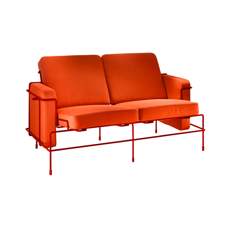 Magis Traffic Two Seat Outdoor Sofa by Konstantin Grcic