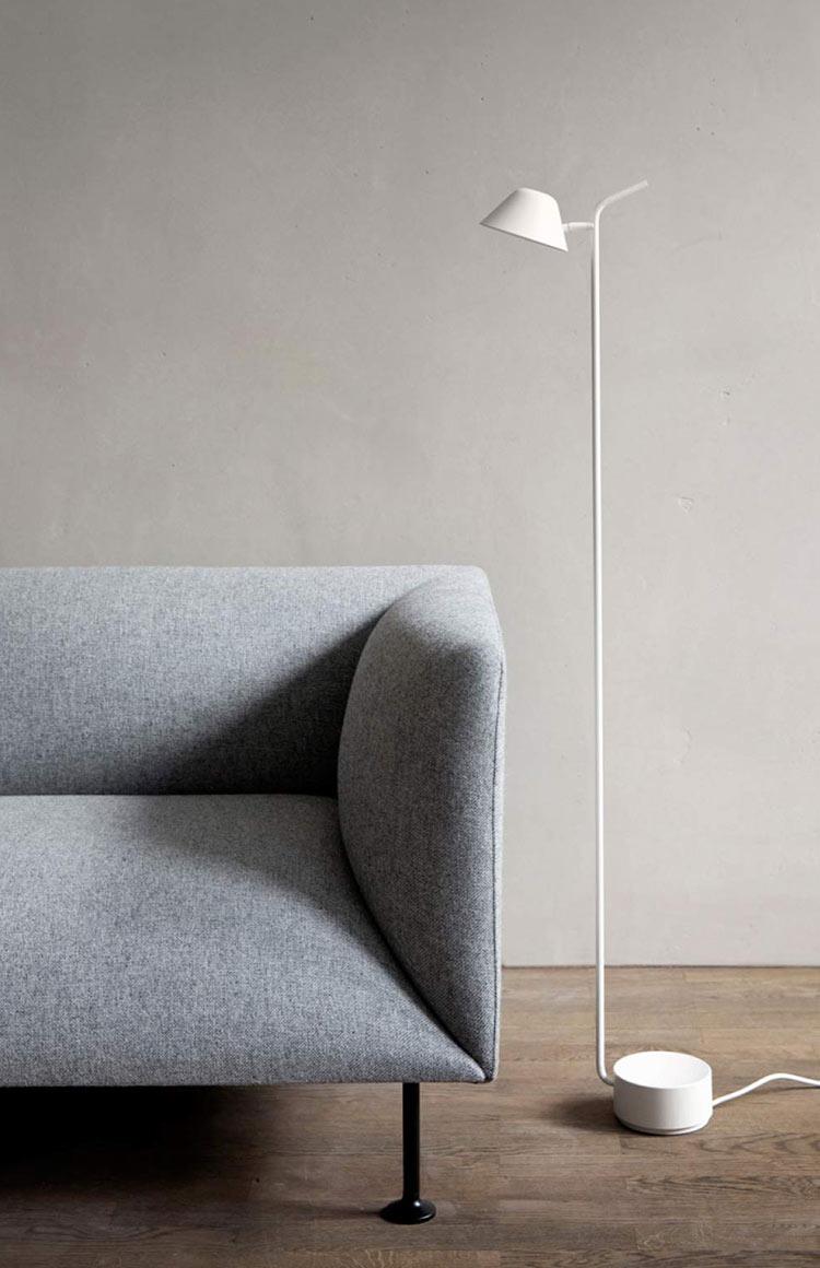 Menu peek floor lamp by Jonas Wagell lifestyle