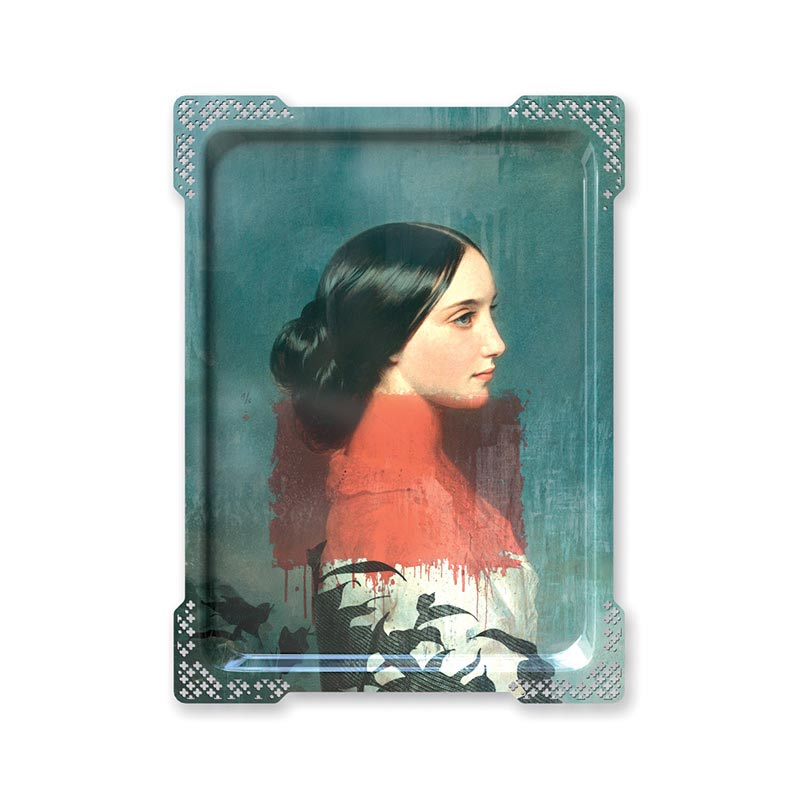 ibride Galerie De Portraits Ida 1 Tray by Rachel & Benoit Convers