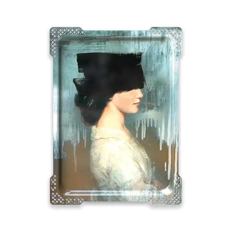 ibride Galerie De Portraits Ida 2 Tray by Rachel & Benoit Convers