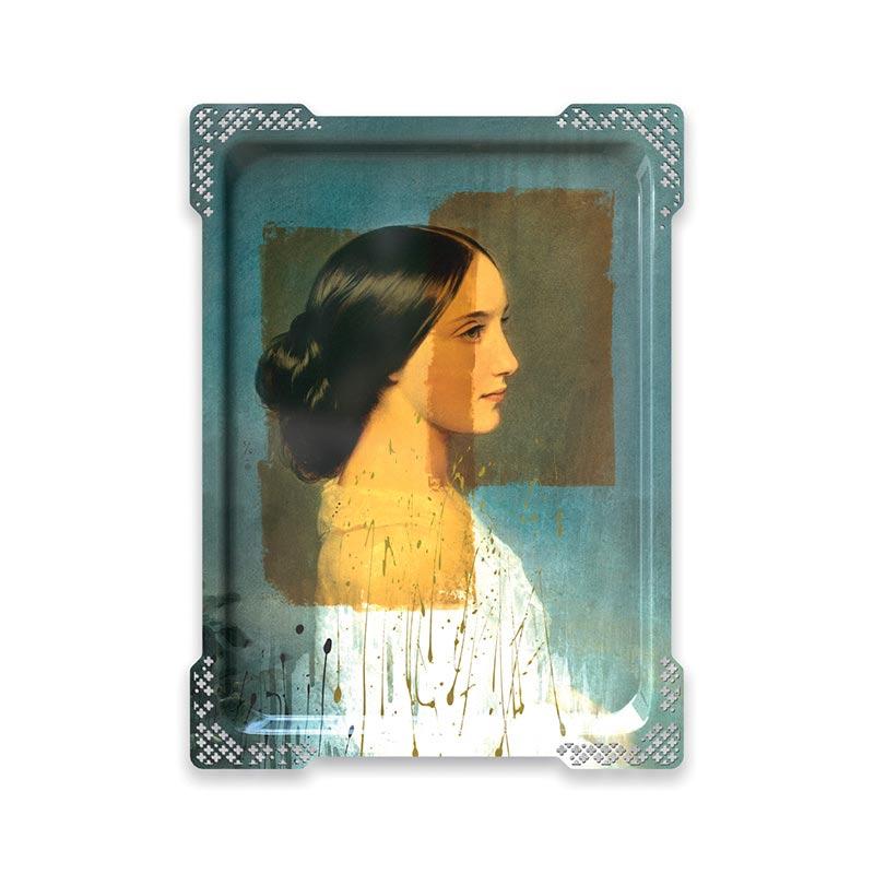 ibride Galerie De Portraits Ida 3 Tray by Rachel & Benoit Convers