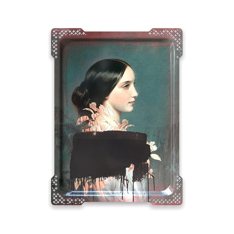 ibride Galerie De Portraits Ida 4 Tray by Rachel & Benoit Convers