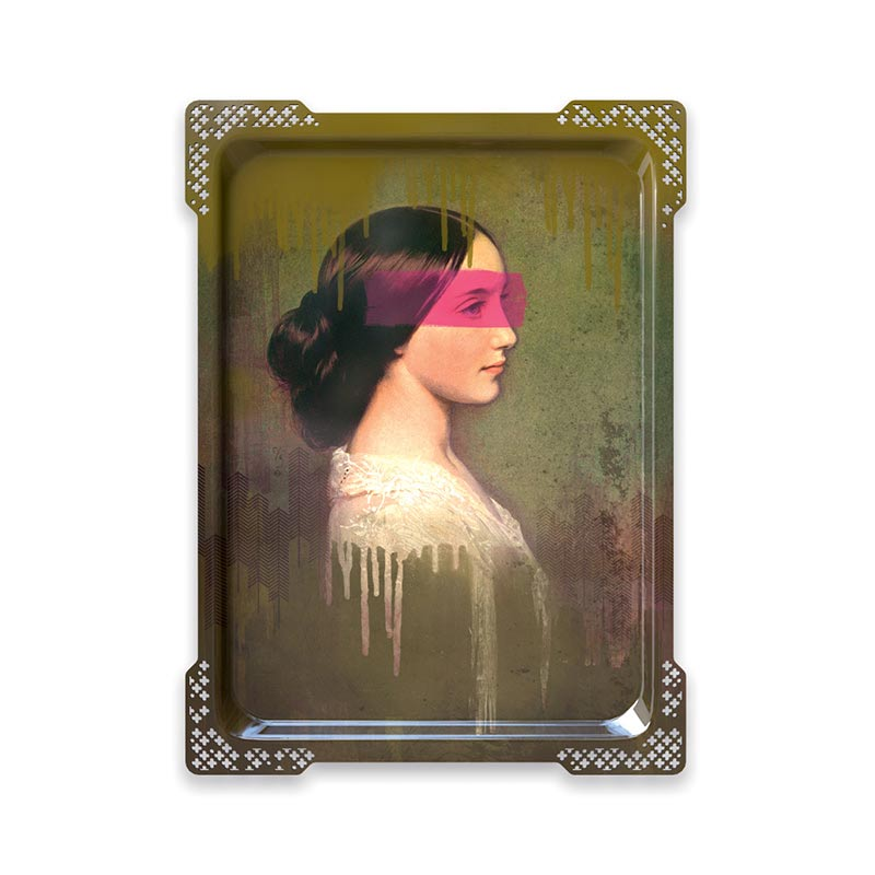 ibride Galerie De Portraits Ida 5 Tray by Rachel & Benoit Convers