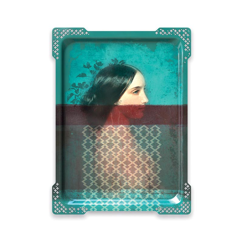 ibride Galerie De Portraits Ida 6 Tray by Rachel & Benoit Convers
