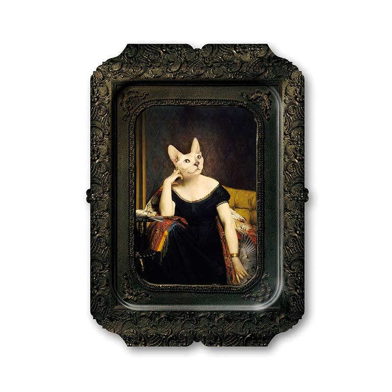 ibride Galerie De Portraits Victoire Tray by Rachel & Benoit Convers