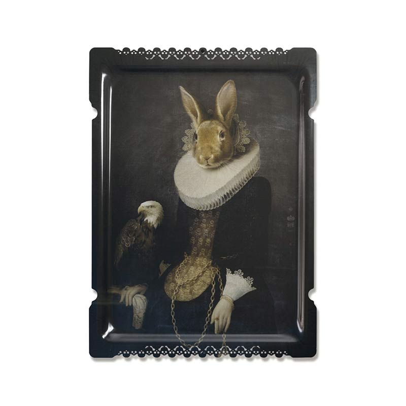 ibride Galerie De Portraits Zhao Tray by Rachel & Benoit Convers