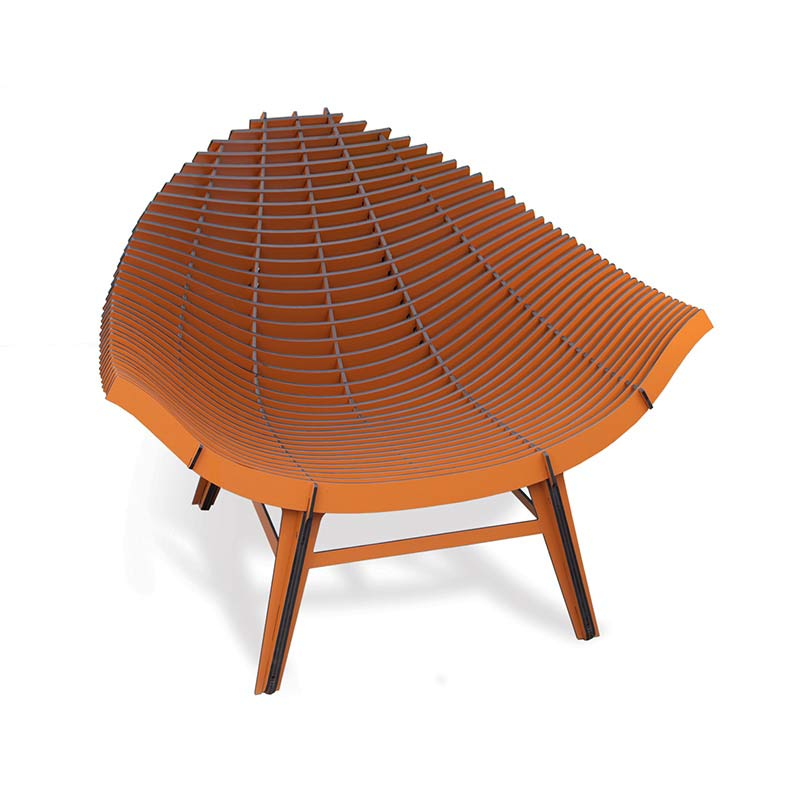 ibride Manta Armchair by Rachel & Benoit Convers