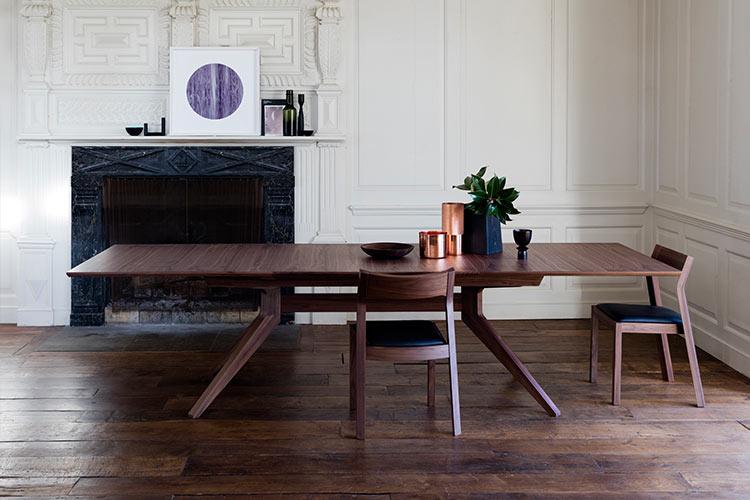Case Furniture Cross table by Mathew Hilton