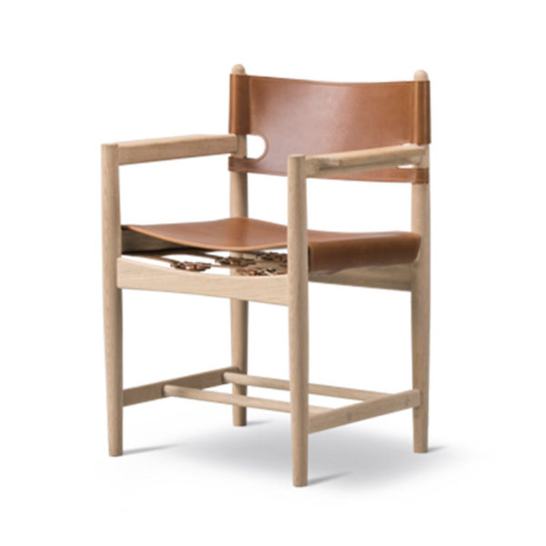Fredericia Spanish Dining Armchair by Borge Mogensen