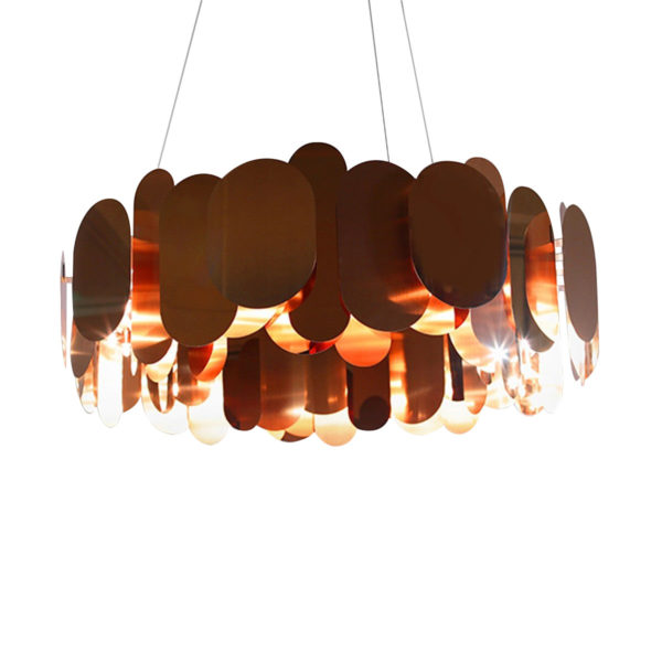 Innermost Panel Chandelier by Steve Jones