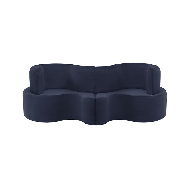 Verpan Cloverleaf Modular Two Seat Sofa by Verner Panton