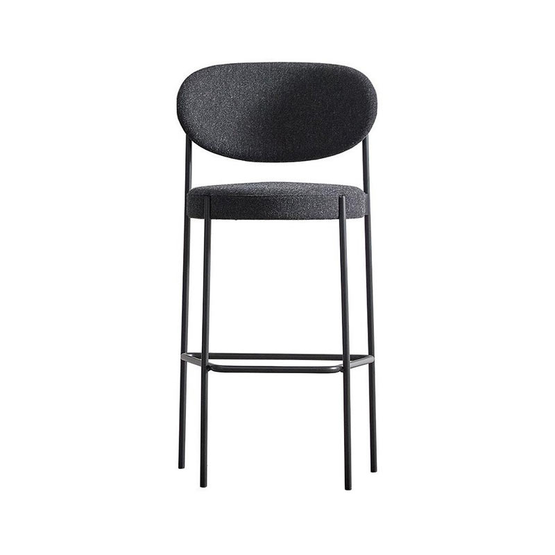 Verpan Series 430 High Bar Stool by Verner Panton Olson and Baker - Designer & Contemporary Sofas, Furniture - Olson and Baker showcases original designs from authentic, designer brands. Buy contemporary furniture, lighting, storage, sofas & chairs at Olson + Baker.