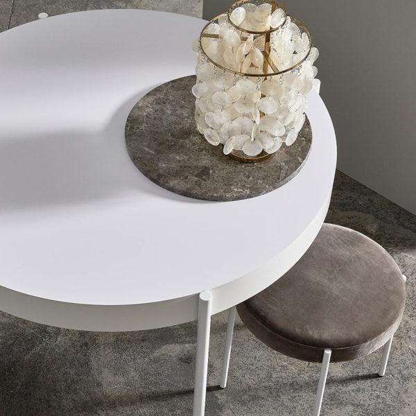 Verpan Series 430 Round Ø160cm Table by Verner Panton