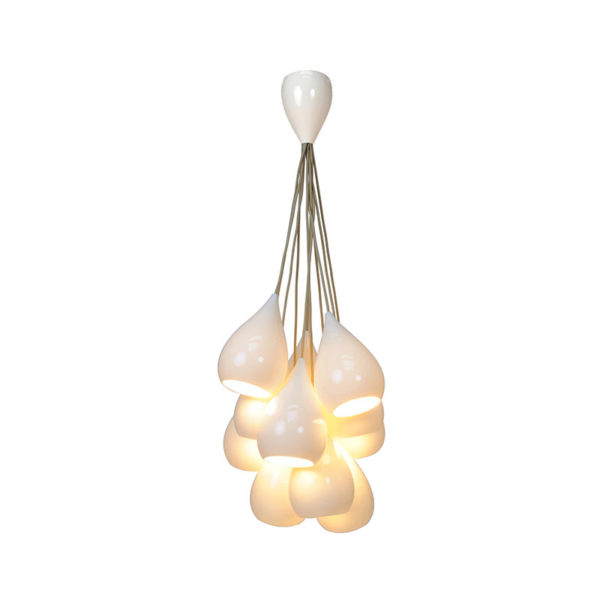 Drop One Cluster of Eleven Pendant Light