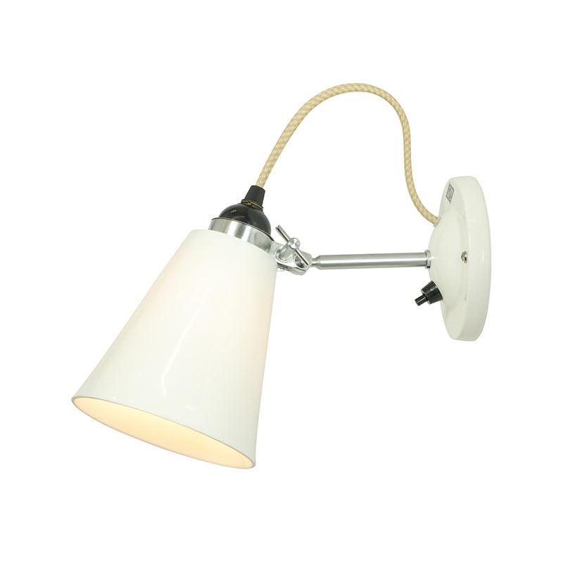 Original BTC Hector Medium Flowerpot Switched Wall Light by Original BTC