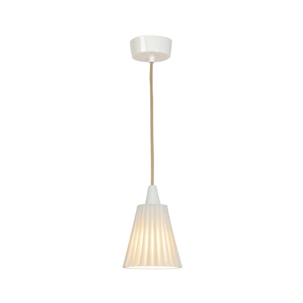 Original BTC Hector Medium Pleat Pendant Light by Original BTC