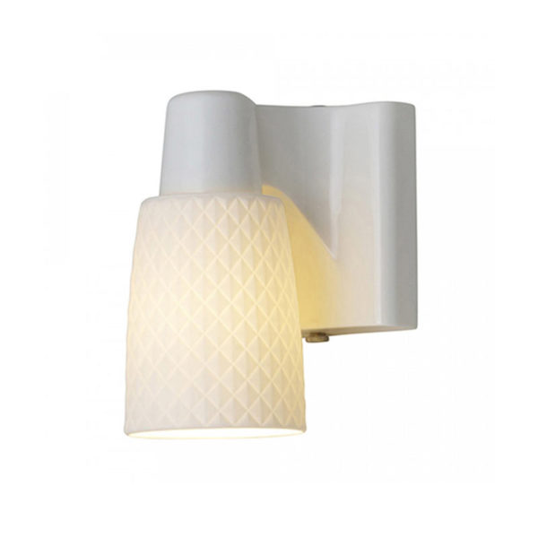 Original BTC Oxford 1 Bone China Wall Light by Original BTC