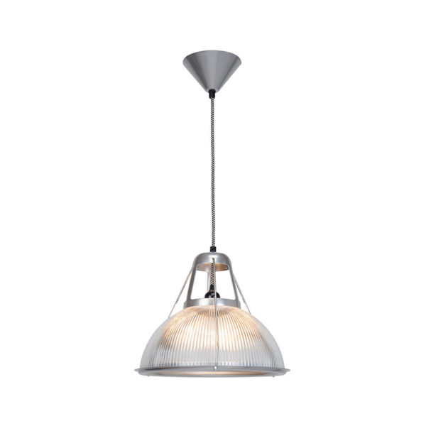 Original BTC Phane Prismatic Glass Pendant Light by Original BTC