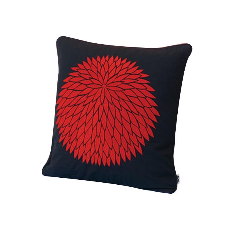 Case Furniture Chrysanthemum Cushion by Nazanin Kamali