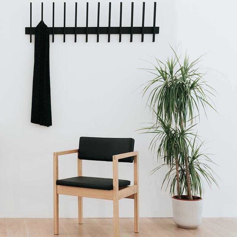 Case Furniture Fin Coat Hook by Brendon Farrell 3