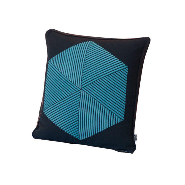 Case Furniture Hexagon Cushion by Nazanin Kamali