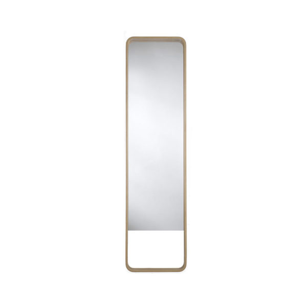 Case Furniture Loop Floor Mirror by Nazanin Kamali