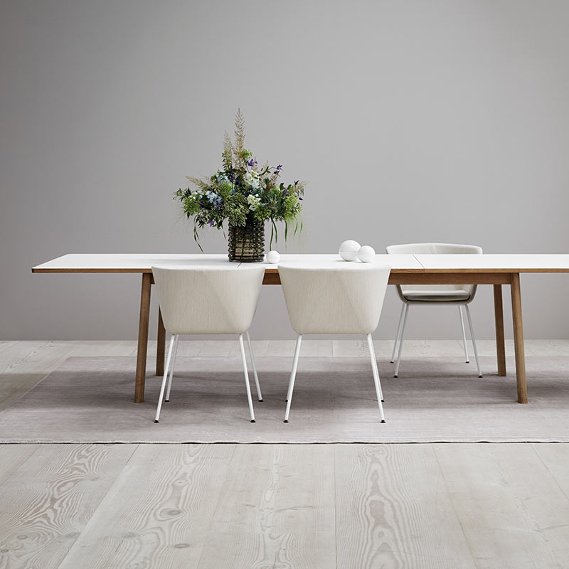Fredericia Ana 95x230-320cm Extendable Dining Table by Arde 7