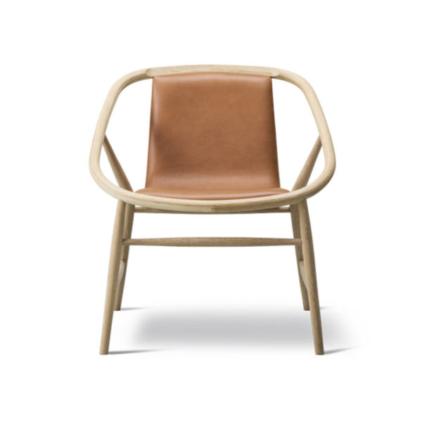 Fredericia Eve Front Upholstered Chair by Timo Ripati