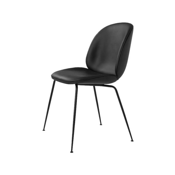 Gubi Beetle Fully Upholstered Stackable Dining Chair by Gam Fratesi