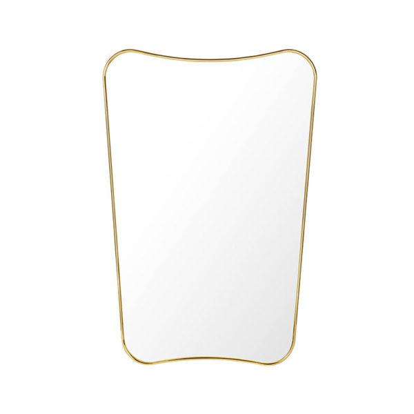 Gubi F.A. 33 Gio Ponti Rectangular 80x54cm Wall Mirror by Gio Ponti