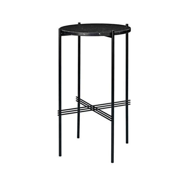 Gubi TS Round Side Table by Gam Fratesi