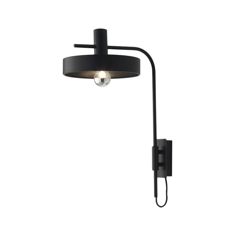 Aromas Dark Aloa Wall Lamp by Fornasevi