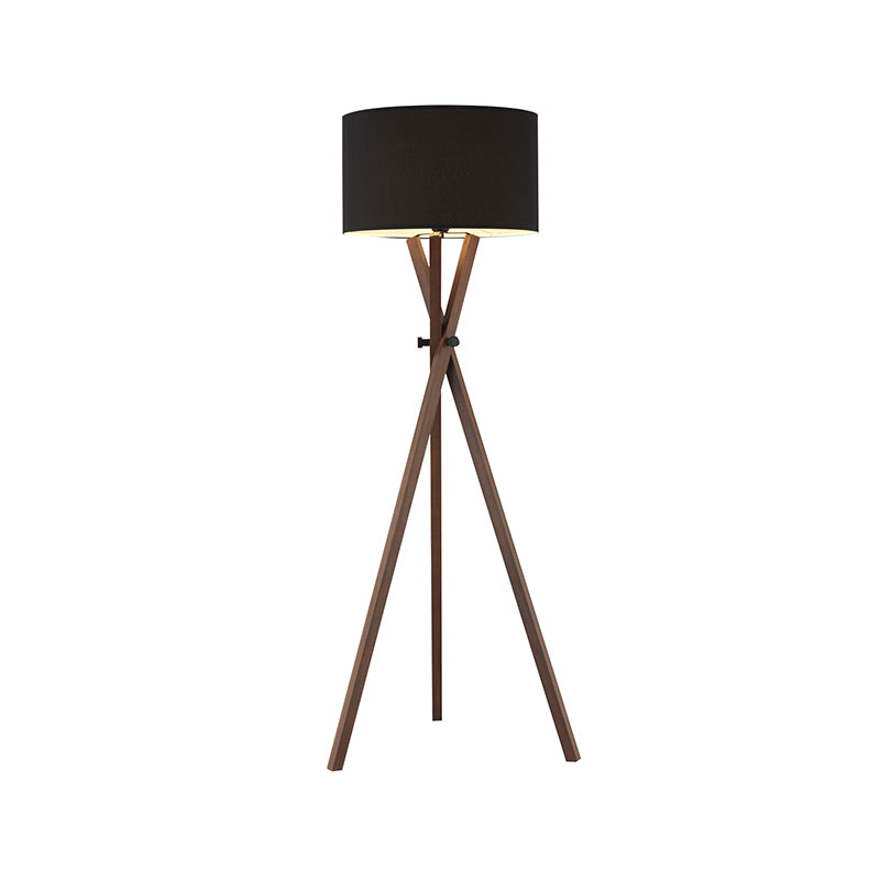 Aromas Cot Floor Lamp in Walnut Wood by AC Studio Olson and Baker - Designer & Contemporary Sofas, Furniture - Olson and Baker showcases original designs from authentic, designer brands. Buy contemporary furniture, lighting, storage, sofas & chairs at Olson + Baker.