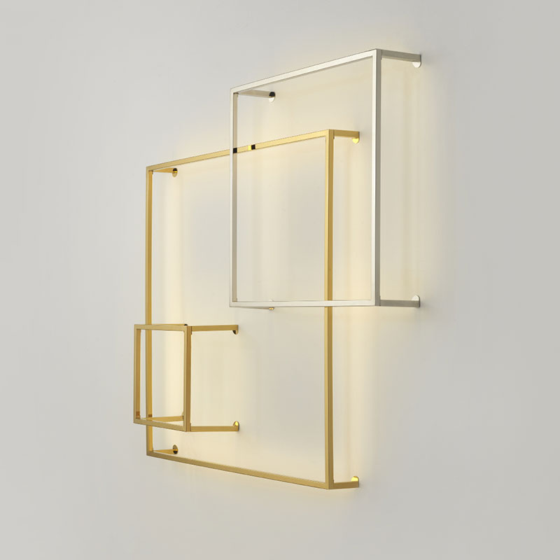Aromas Cube Wall Lamp by AC Studio