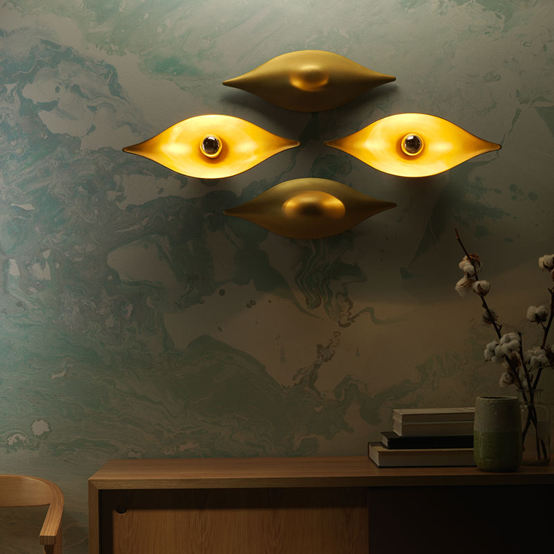 Aromas Ehy Wall Lamp by AC Studio 2
