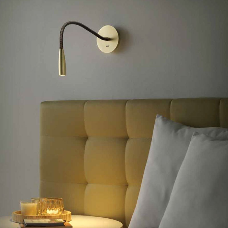 Aromas Flexi Leather Wall Lamp by Jana Chang 2