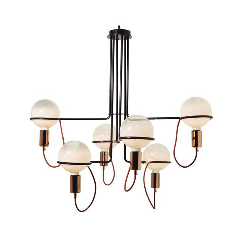 Aromas Ghost Chandelier by Fornasevi