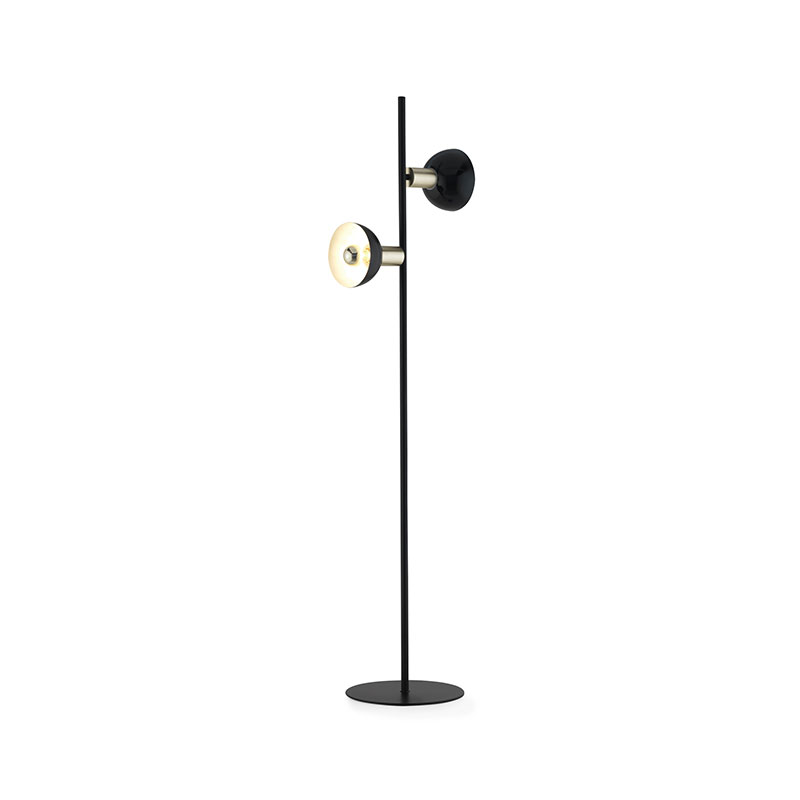 Aromas Ohlala Floor Lamp with Round Shades by AC Studio