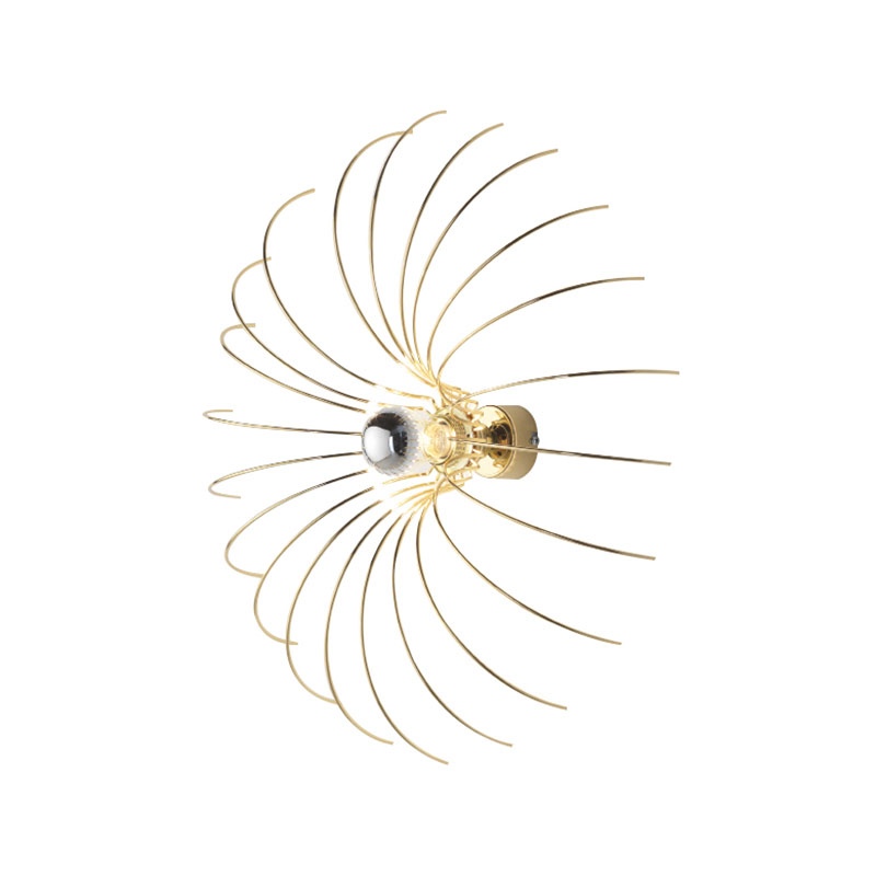 Aromas Spider Wall Lamp by Fornasevi
