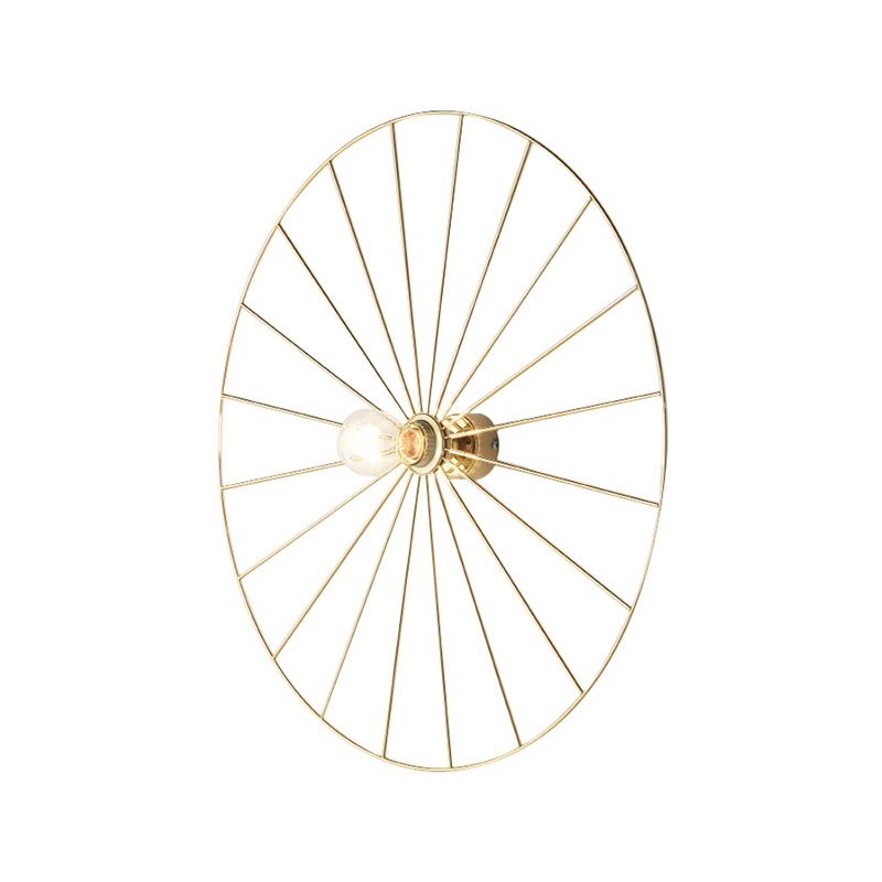 Aromas Wheel Wall Lamp by Fornasevi