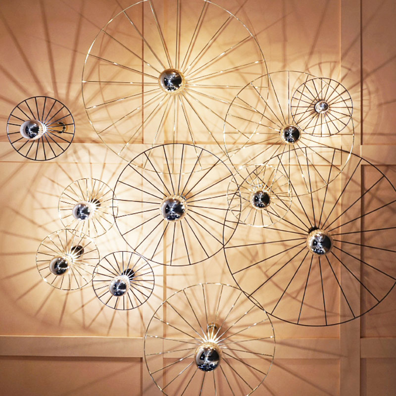 Aromas Wheel Wall Lamp by Fornasevi 2