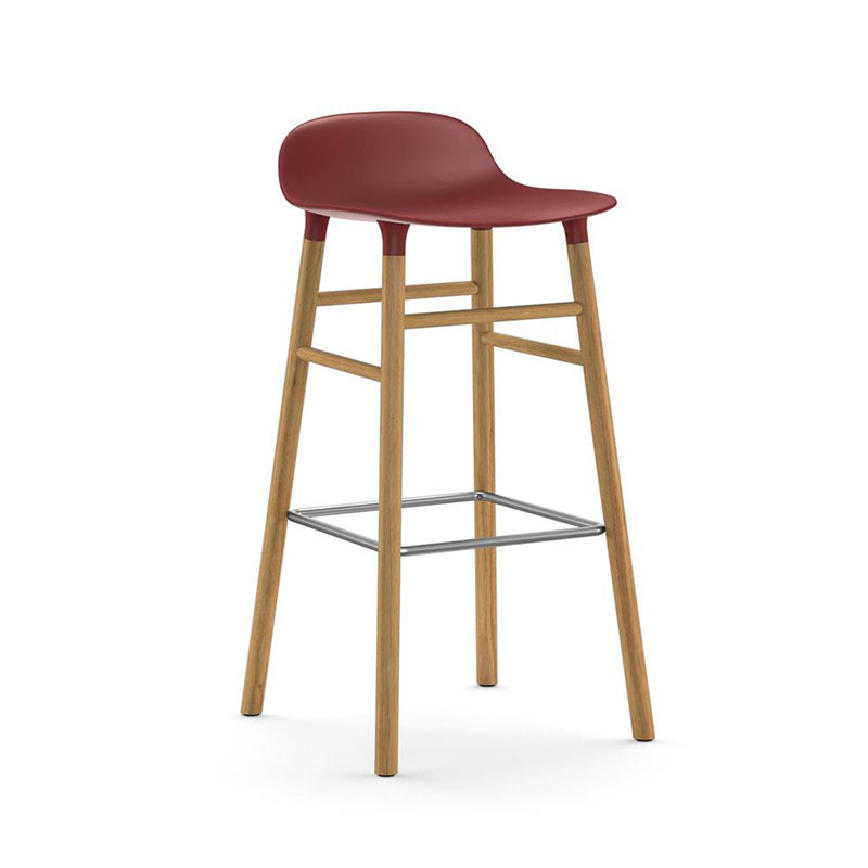 Normann Copenhagen Form High Bar Stool by Simon Legald