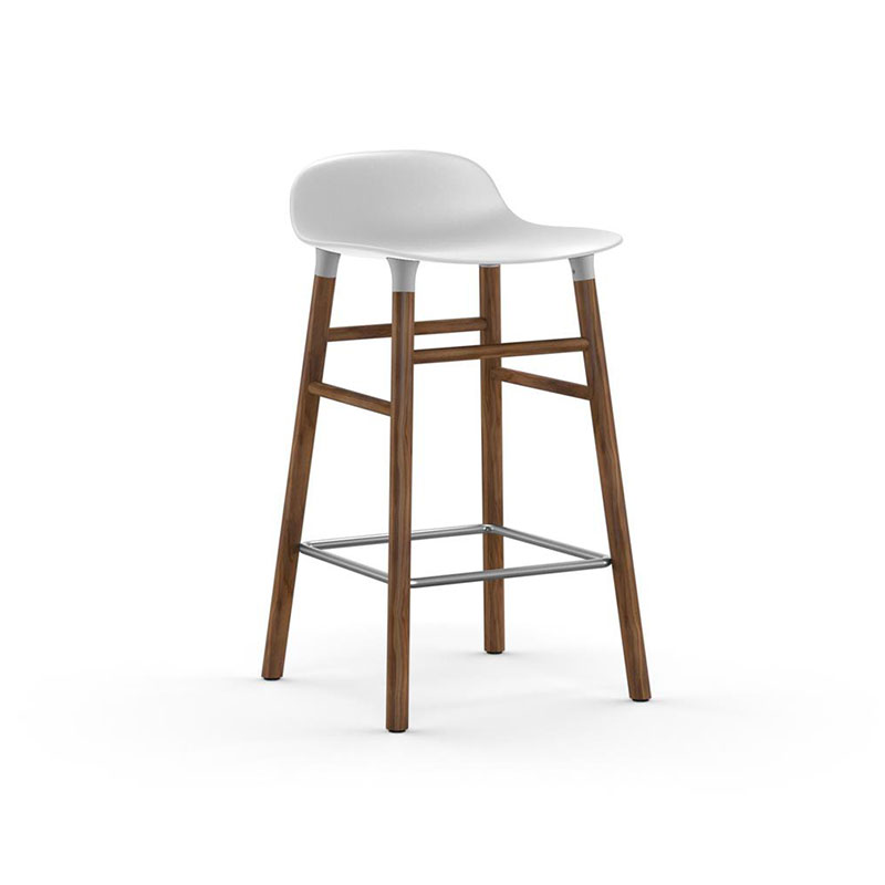 Normann Copenhagen Form Low Bar Stool by Simon Legald