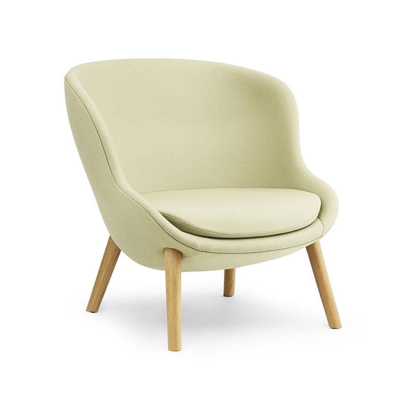 Normann Copenhagen Hyg Lounge Chair Low by Simon Legald
