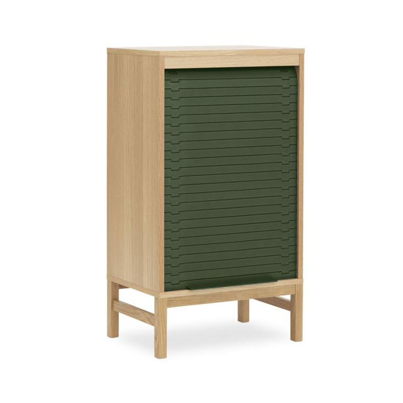 Normann Copenhagen Jalousi Cabinet Low by Simon Legald