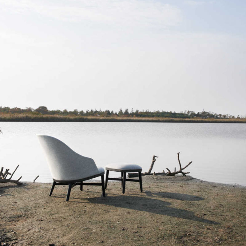 Stellar Works Bund Lounge Chair by Neri & Hu 2