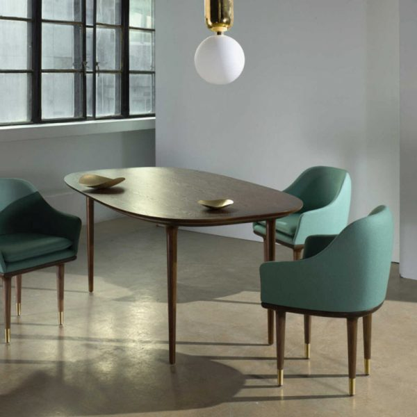 Lunar 160x90cm Dining Table