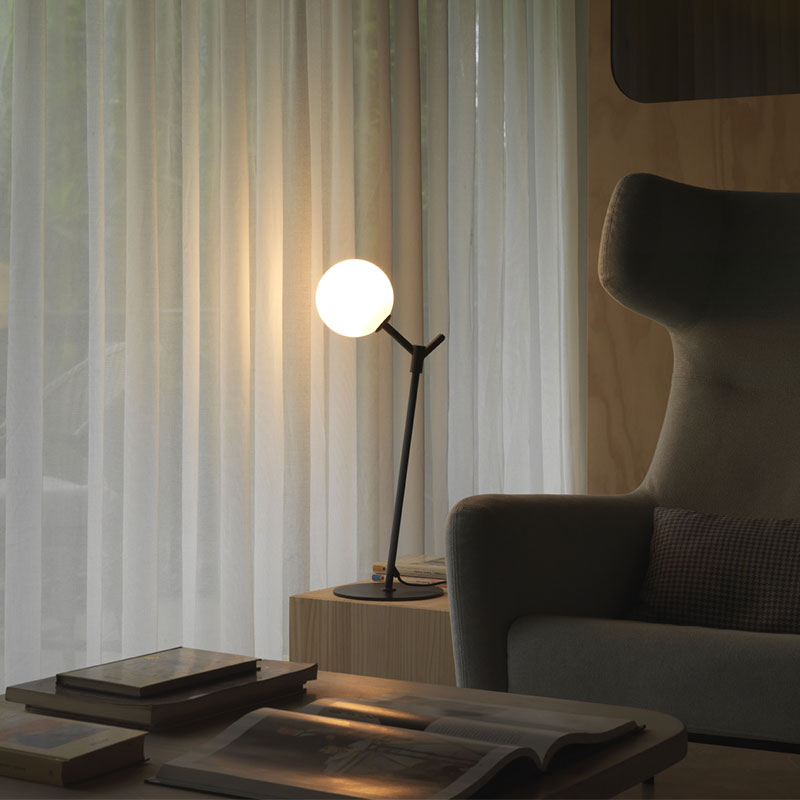 Aromas Atom Table Lamp by AC Studio 2 Olson and Baker - Designer & Contemporary Sofas, Furniture - Olson and Baker showcases original designs from authentic, designer brands. Buy contemporary furniture, lighting, storage, sofas & chairs at Olson + Baker.
