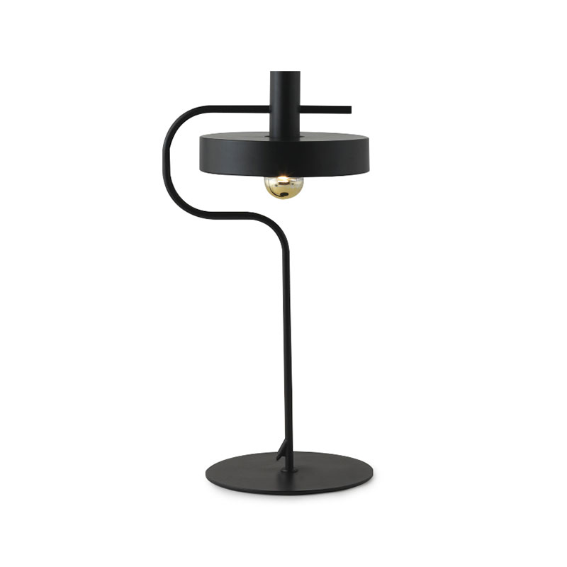 Aromas Dark Aloa Table Lamp by Fornasevi