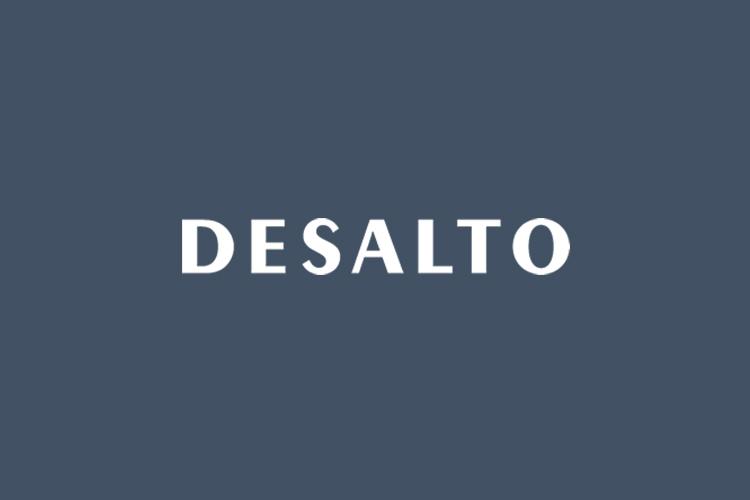 Desalto Brand logo blue
